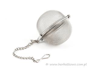 Zaparzacz metalowy Kulka 5 cm
