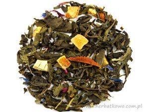 Zielona herbata Energetyczna Pomarańcza