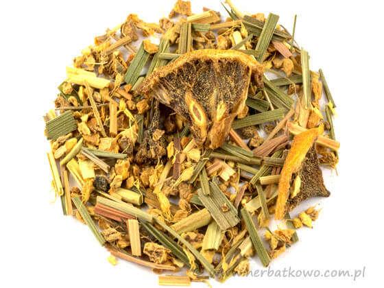 Herbatka Ajurwedyjska Cytryna i Imbir
