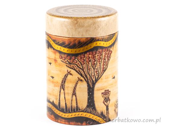 Puszka na herbatę Africa 125g