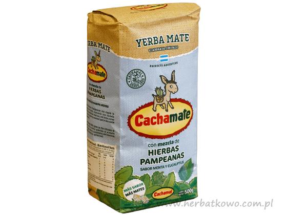 Yerba Mate Cachamate Hierbas Pampeanas 0,5 kg