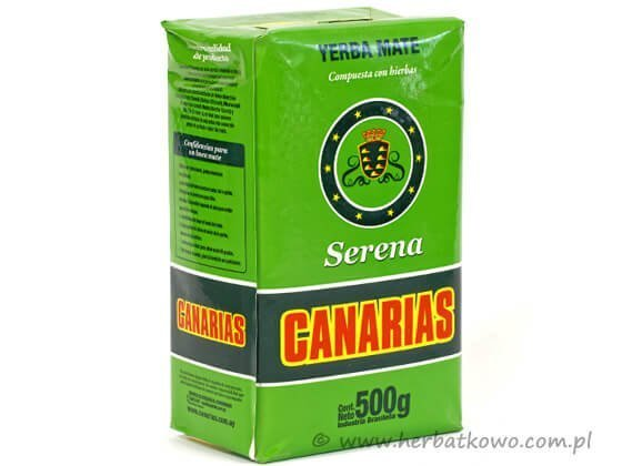 Yerba Mate Canarias Serena 0,5 kg