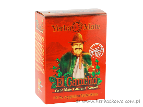 Yerba Mate El Gaucho Guarana Acerola 0,5 kg