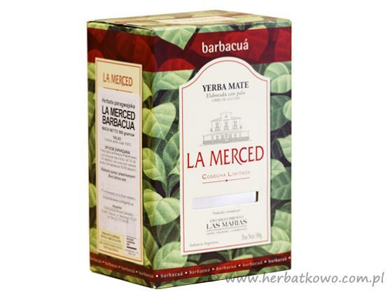 Yerba Mate La Merced Barbacua 0,5 kg