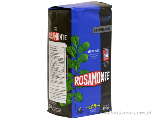 Yerba Mate Rosamonte Despalada 0,5 kg