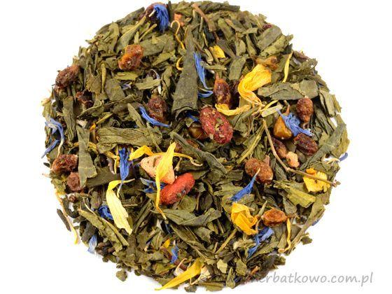 Zielona herbata Czerwony Diament