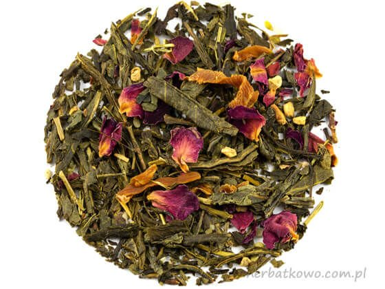 Zielona herbata Gejsza