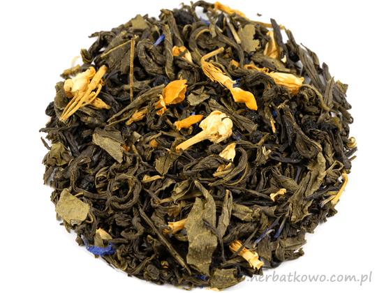 Zielona herbata Jagoda i Jaśmin