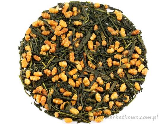 Zielona herbata Japan Genmaicha Musashi