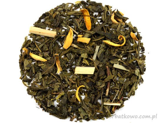 Zielona herbata Sencha Kaktusowa
