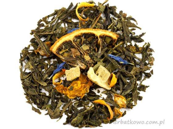 Zielona herbata aromat. Pigwa Cytryna